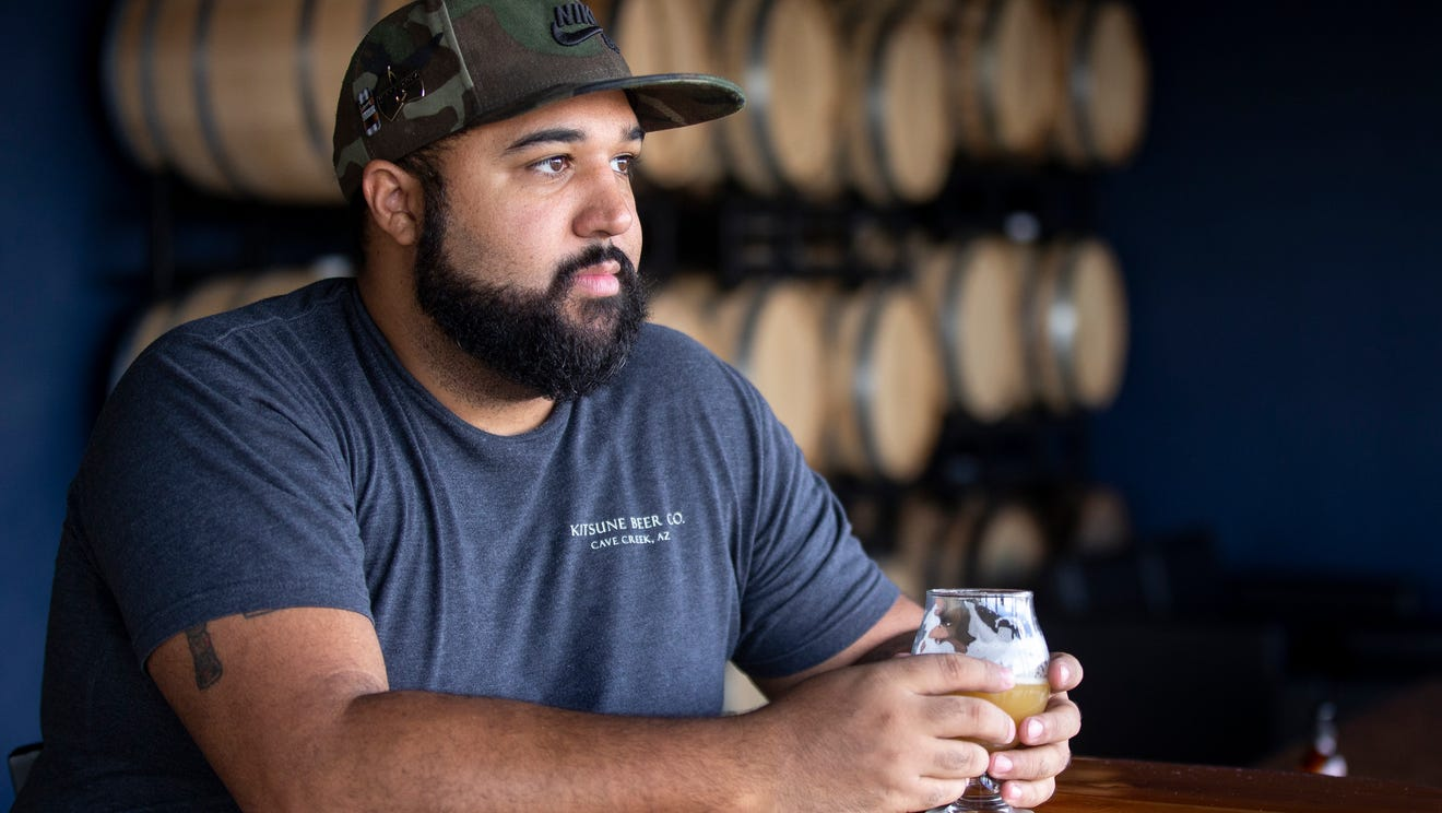 Arizona's only Black-owned brewery launches this week. Say hello to Kitsune Brewing